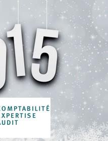 et leurs équipes vous présentent leurs meilleurs voeux pour 2015